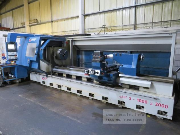Maschine: GEMINIS GHT5 G2 1000x3000 CNC Turning Machines